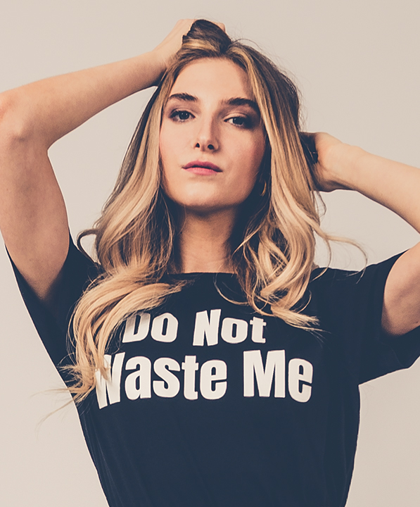 DO NOT WASTE ME <br/> T-SHIRT
